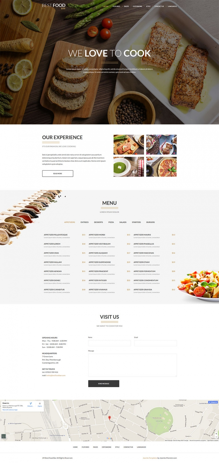 Joomla templates jm best food bar joomlahacks jm best food bar is an amazing food joomla template created specially for best food bar food restaurant services or as a great solution for blog about forumfinder Images